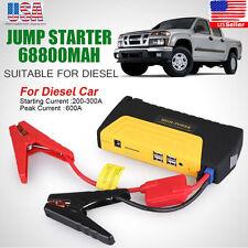 Portable Mini Slim 68800mAh USB Car Jump Starter 12V Battery Charger Power Bank