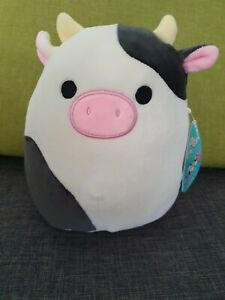 Squishmallow Connor Cow 7.5 Inches, 19cm  New