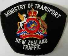 Ministry of Transport New Zealand Traffic Cloth Patch