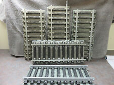 5 pieces of Railroad Track for Displaying Jim Beam Porcelain Decanter Train set