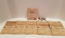 WWII War Ration Books & Stamps Brown Family-Chicago 1940's Ration Books & Tokens