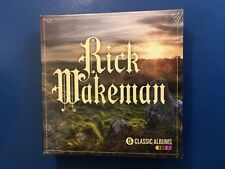 RICK WAKEMAN.      FIVE CLASSIC ALBUMS ON COMPACT DISC