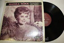 """Marika Rokk Fur eine Nacht Voller Seligkeit  LP (G) 12"""""""