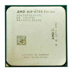 AMD A10-6700 Quad Core APU 3.7GHz 4MB Socket FM2 Radeon HD 8670D