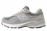 New Balance M990GL3 2E Grey White Made In USA Mens Top Running Shoes M990GL32E