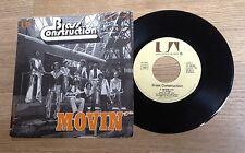 45 tours Brass Construction Movin' Talkin' funk disco 1976 EXC