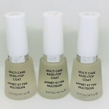 3 X Revlon Nail Polish Multi Care Base + Top Coat 14.7ml 965