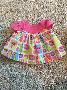 Baby Alive Real Surprises Doll Pink Dress Shirt Butterflies Giraffe