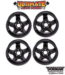Steel Wheel Rim (16 inch) Wheels (Set of 4) 5 Spoke for 07-08 Chevy Cobalt