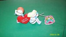 CABBAGE PATCH KIDS porcelain figurine valentine talking