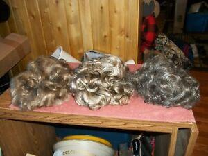 3-Wigs From Estate Sale. See Description