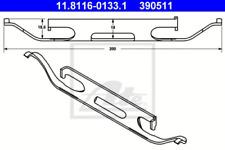 Feder, Bremssattel für Bremsanlage Vorderachse ATE 11.8116-0133.1