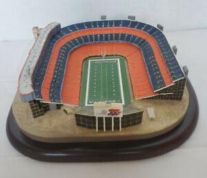Danbury Mint Mile High Denver Broncos Football Stadium