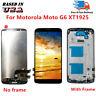 Fit For Motorola Moto G6 XT1925-6 XT1925-12 XT1925DL LCD Touch Digitizer ±Frame