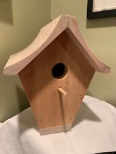 BIRD HOUSE WOODENCrafty Project Handmade~you Paint - Multiples Available