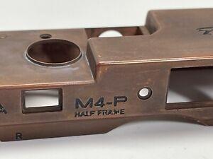 Leica M4-P Half Frame 18x24 / Top plate Part / Bare Brass Or Zinc- Rare!