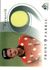 2002 SP Game Used Front 9 Fabric Golf Card #JP Jesper Parnevik