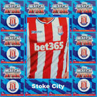 TOPPS Match Attax 2017 2018 football cards STOKE CITY - Various