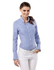 Damenblusen, - tops & -shirts mit Rüschen aus Baumwolle in 34