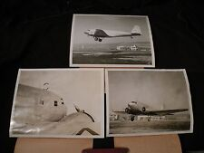 Set of 3 1935 News Photos Government Robot Plane in Test Flight, Oakland CA