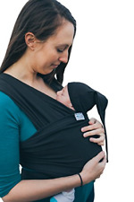 Baby Wrap Sling Organic Stretchy Premium Carrier | UK/EU Safety Tested | Made in