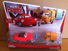 DISNEY CARS DIECAST - Shawn Krash & Sal Machiani (New & Rare) - Combined Postage