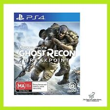 Tom Clancy's Ghost Recon Breakpoint PS4 Brand New and Sealed