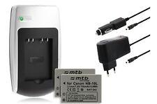 2x Batterie + Chargeur NB-10L NB10L pour Canon PowerShot G1X, G15, SX40 HS, SX50