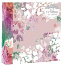 Floral Photo Album (6'' x 4'') Holds 200 Gift Travel Picture Photo Book
