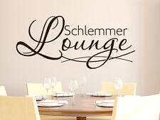Parete Tatuaggio Parete Adesivo Tatuaggio frase per cucina Schlemmer Lounge linee