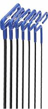 "Eklind Tool Company 55166 6 Piece 6"" Cushion Grip Metric T-Handle Hex Key Set"