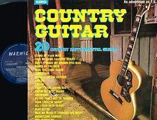 COUNTRY GUITAR 20 Instrumental Greats VINYL LP Pete Willsher WARWICK 1979 WW5070