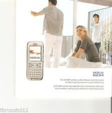 NOKIA 6234 - CD - COMMUNICATION SOFTWARE - 2006