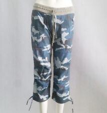 New Lorna Jane Women's Flashdance 3/4 Pants Jogger Blue Camo Size XS-L RRP79
