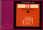 OWNERS MANUAL PORSCHE 1970 911S HANDBOOK GUIDE 70 911-S 2.2
