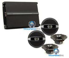 "pkg FOCAL AUDITOR (2) R-165C 6.5"" COAXIAL SPEAKERS + R4280 4-CHANNEL AMPLIFIER"