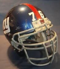2008 Chris Snee Game Worn Used New York Giants Football Helmet Schutt XL GU
