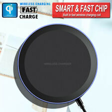 Rapide Chargeur sans Fil QI Induction Charging Pad pour Samsung Huawei iPhone