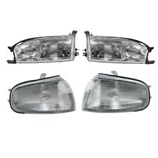1992 - 1994 TOYOTA CAMRY HEAD LIGHT LAMP AND CORNER PARK LIGHT LAMP RIGHT & LEFT