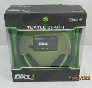 Turtle Beach - Ear Force DXL1 Gaming Headset - Dolby Surround Sound - Xbox 360