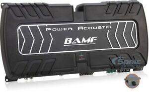 Power Acoustik BAMF5-2500 2500W 5-Channel BAMF Series Class AB Car Amplifier