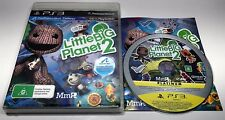 GENUINE PLAYSTATION 3 PS3 GAME MOVE | LITTLE BIG PLANET 2 | COMPLETE PAL