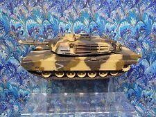 124 US M1A2 Abrams RC Battle Tank Radio Remote Control Airsoft  NO REMOTE
