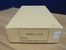 HALLMARK HO E-3/6 BRASS ENGINE BOX 591024