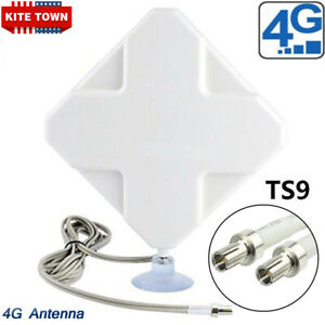 35dBi 4G LTE Booster Ampllifier MIMO Antenna TS9 Telstra Optus for Huawei /ZTE