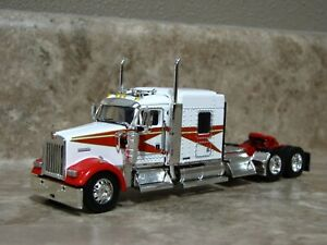 DCP 1/64 Red White Kenworth Semi Truck Farm Toy