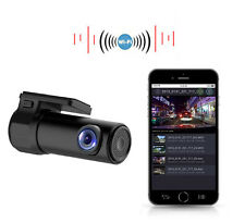 Car Video Recorder DashCam Road Camcorder APP Monitor Night Vision Wireless Cam