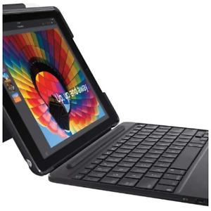 Logitech Black Slim Combo Keyboard/Case For Apple iPad 5th & 6th Gen 920-009040
