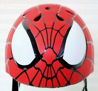 SPIDERMAN Bike Safety Helmet Child Youth  Red Super Hero Ages 5+ Marvel 50-54 cm