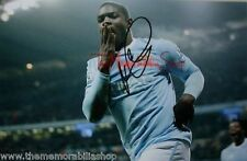 Manchester City Autographed Football Photographs